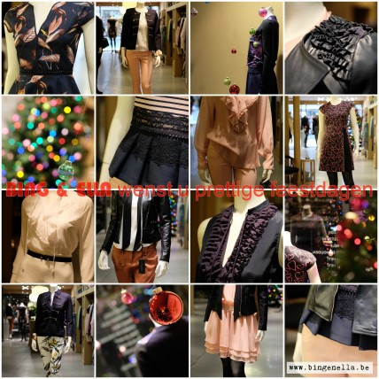 KerstETALAGE : kerstig en zinnestrelend. Bekijk onder COLLECTIES. - 10.12.2015