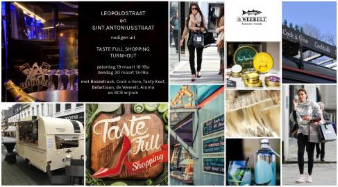 Taste Full Shopping Turnhout - 19 en 20 maart - fashionable and delicious - foodtrucks in de ganse binnenstad - 08.03.2016