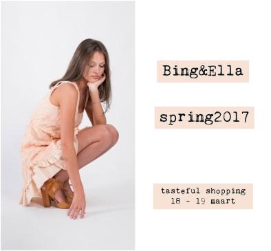 Bing&Ella nodigt uit : Turnhout TASTEFUL SHOPPING 18 - 19 maart - zondag open van 13u tot 17u - 15.03.2017